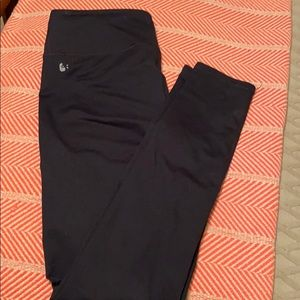Fabletics big waist black legging